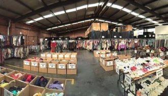 Vintage clothing warehouse sale 2016