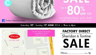 Tontine Clearance sale Melbourne