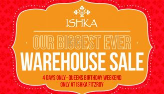 Ishka Fitzroy Warehouse Sale Melbourne