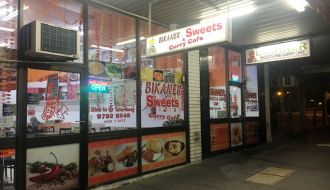 Bikaner sweets & curry cafe Dandenong