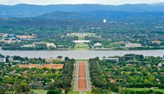 ANZAC Parade Walk Canberra