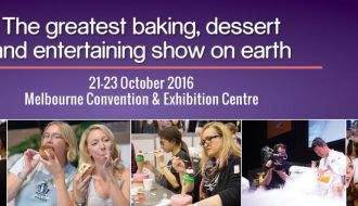 Cake Bake and Sweets Show Melbourne 2016