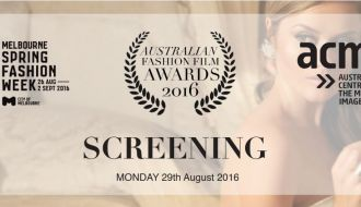 The Australian Fashion Film Awards (AFFA) Melbourne 2016