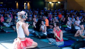Flow After Dark Sydney Yoga Silent Disco 2016