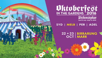 Oktoberfest in the Gardens Melbourne 2016