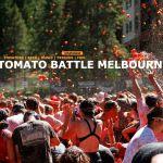 Tomato Battle Melbourne 2015