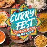 Curry Fest St Kilda Beach Melbourne