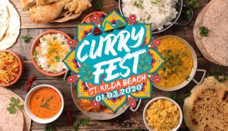Curry Fest St Kilda Beach Melbourne