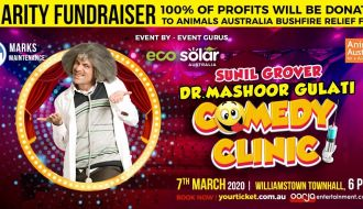 Dr.Mashoor Gulati Comedy Clinic in Melbourne