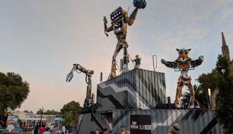 Robot SPACEland Chappel Street Precinct