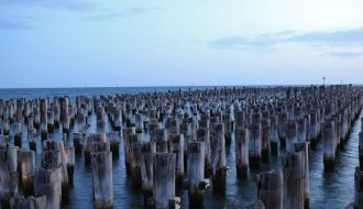 Princes Pier Port Melbourne Australia