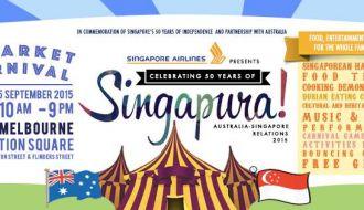 Singapura Market Carnival Melbourne 2015
