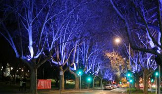 St Kilda Road Southbank Walk Melbourne