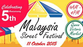 Malaysia Street Food Festival Melbourne 2015