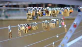 Padlock Bridge Melbourne
