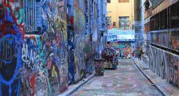 Graffiti Laneways Melbourne