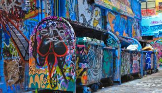 Graffiti Laneways Melbourne