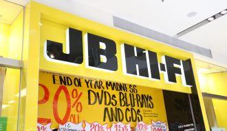 JB HiFi electronics and digital equipment stores