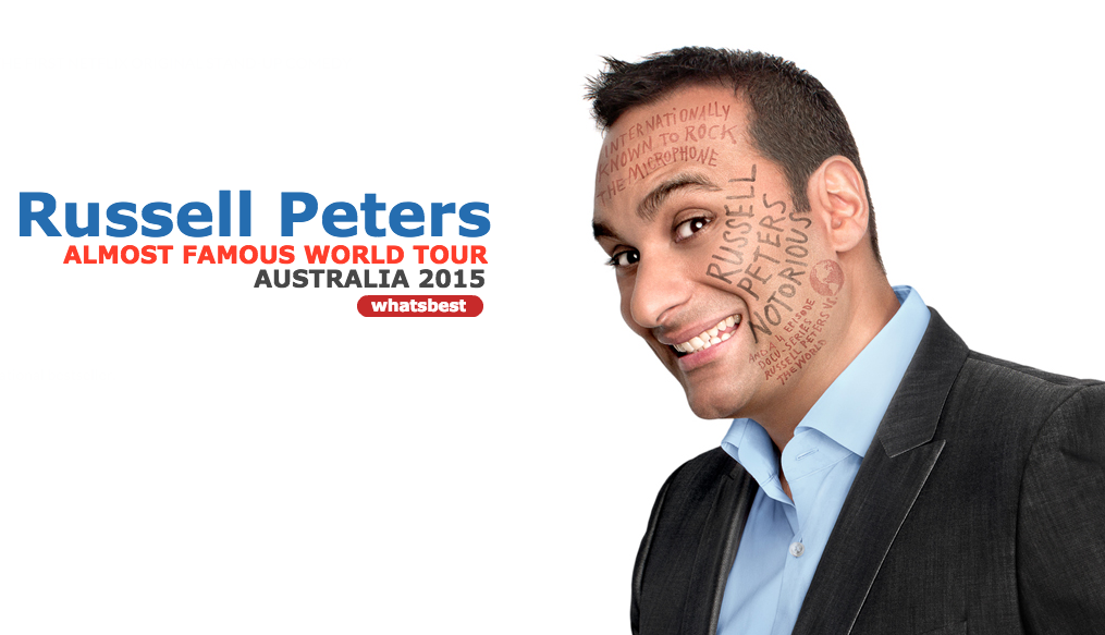 Russell Peters Australian Melbourne Tour 2015