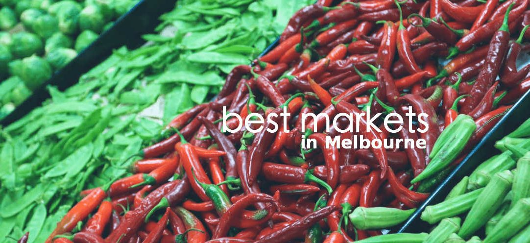 best markets in melbourne