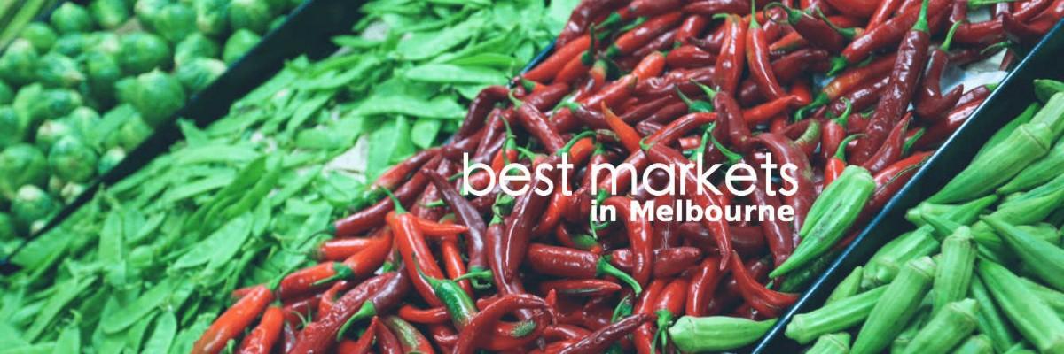 best markets in melbourne
