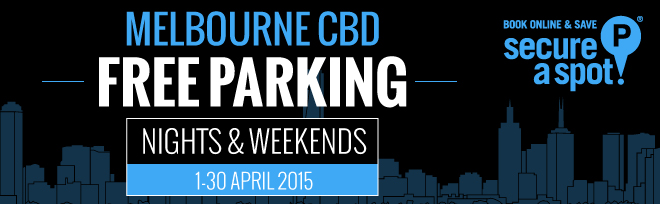 One Month of Free Parking in Melbourne CBD