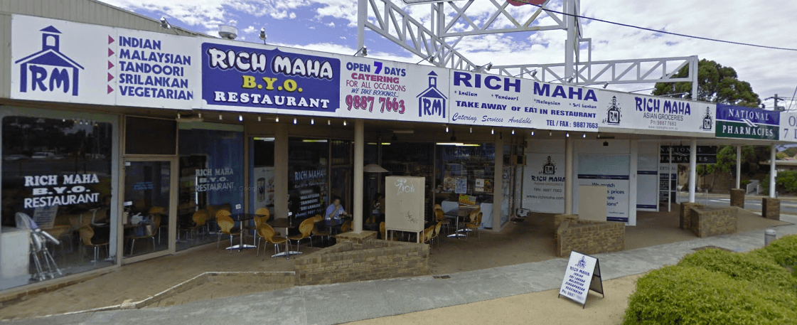 Rich Maha Indian Restaurant Vermont South