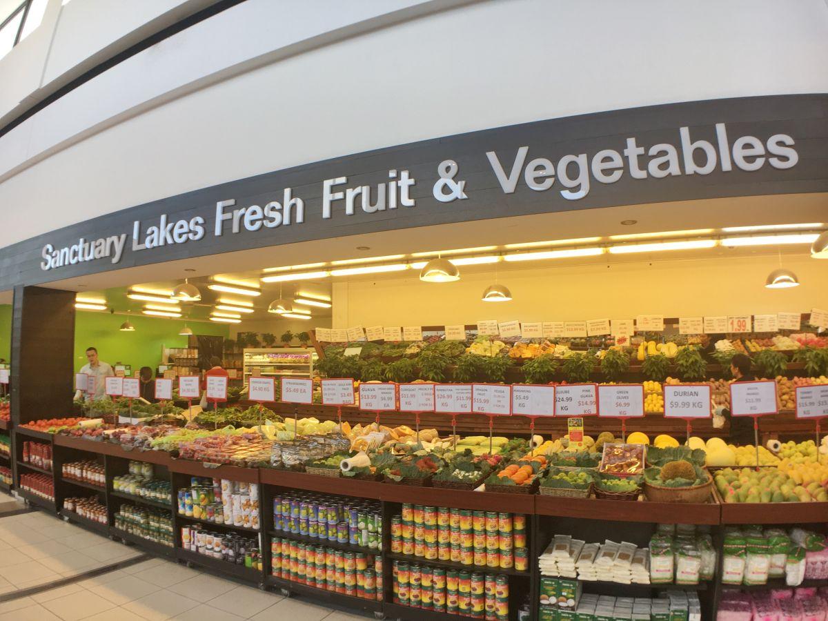 Sanctuary Lakes Fruit & Vegetables
