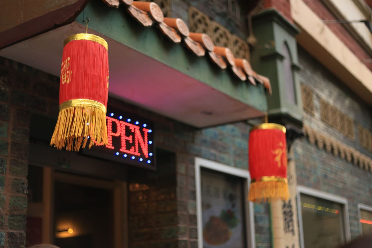 china town at melbourne