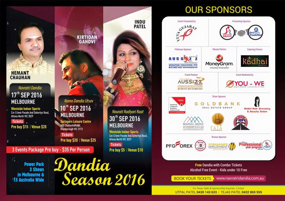 dandiya melbourne 2016