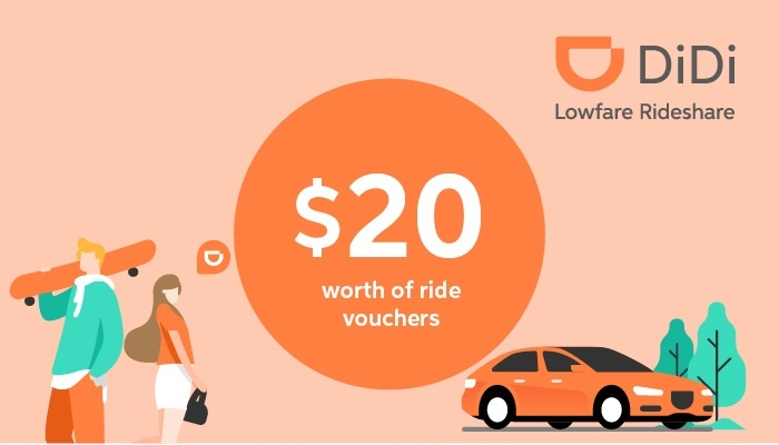didi rideshare discounts