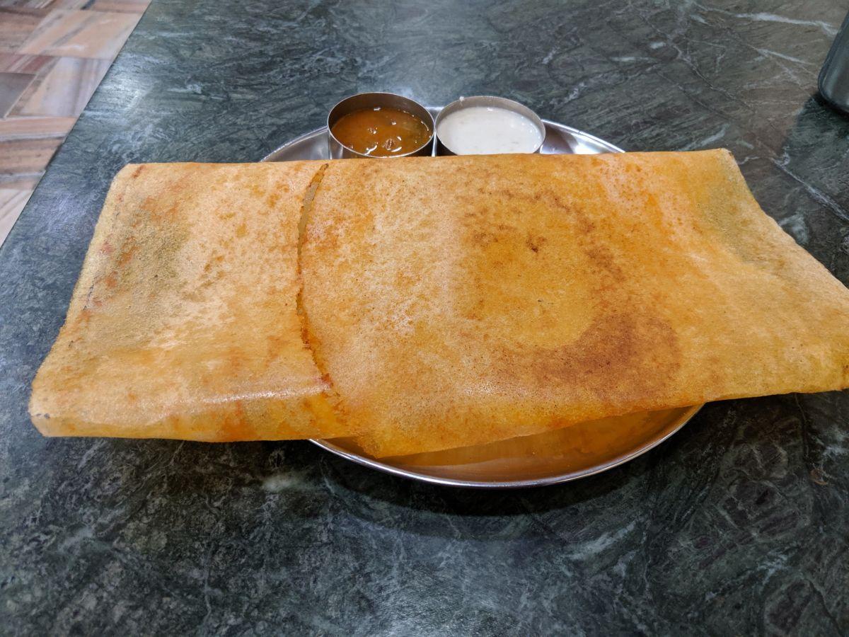 dosa sambar and chutney