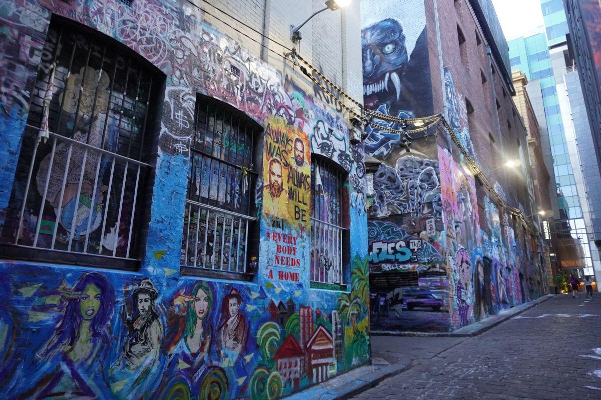 graffitti lane hosier melbourne whatsbest