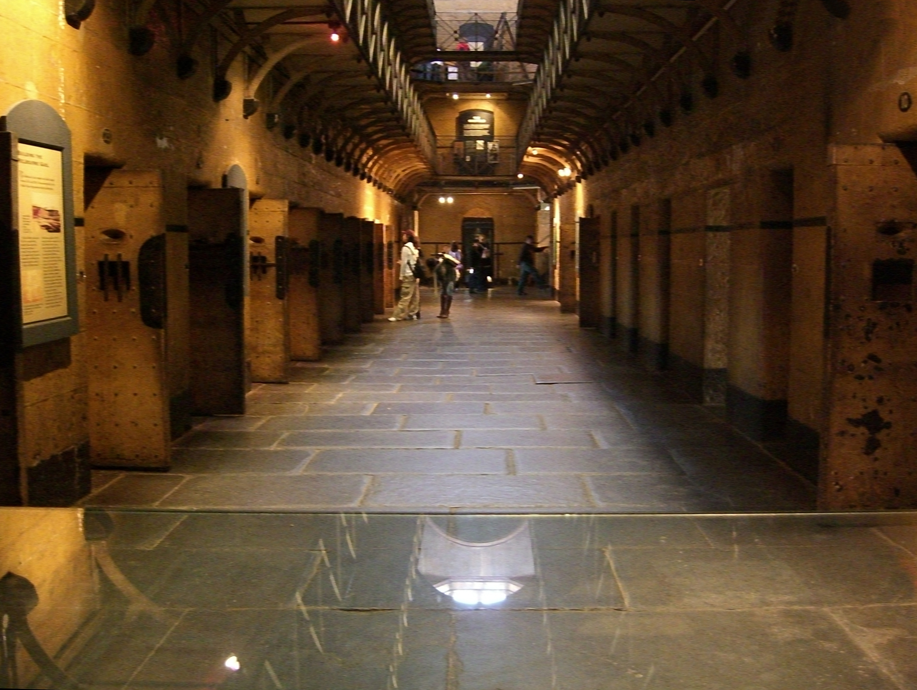 inside the old gaol jail in melbourne