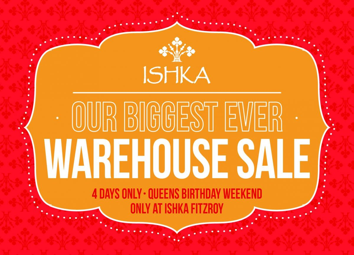 ishka warehouse sale melbourne