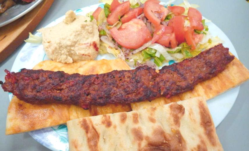 awesome adana kebabs and dips from Katik Kebabs