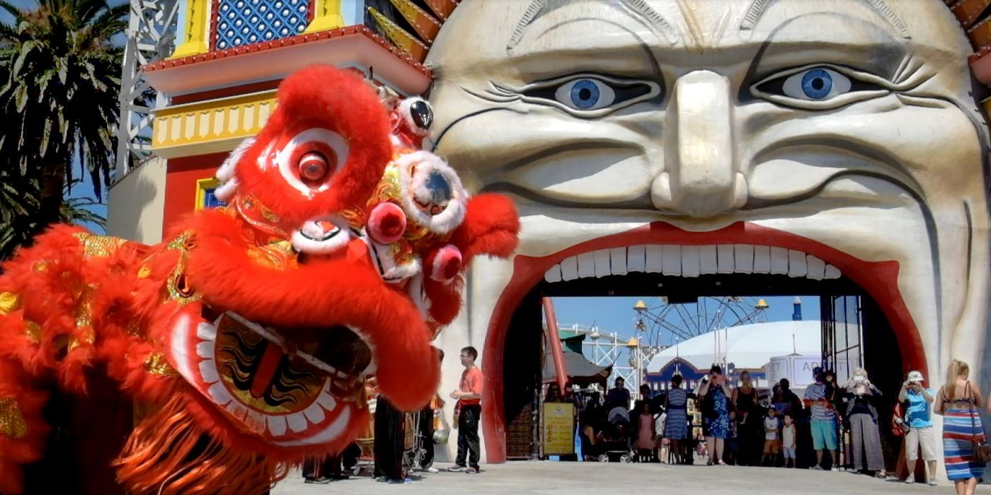 luna park chinese new year festival melbourne