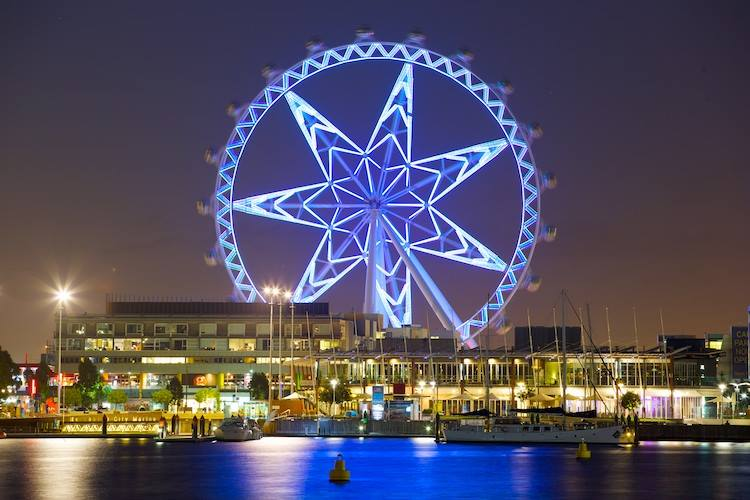 melbourne star giant wheel