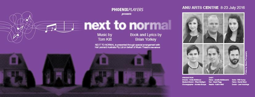 next to normal canberra