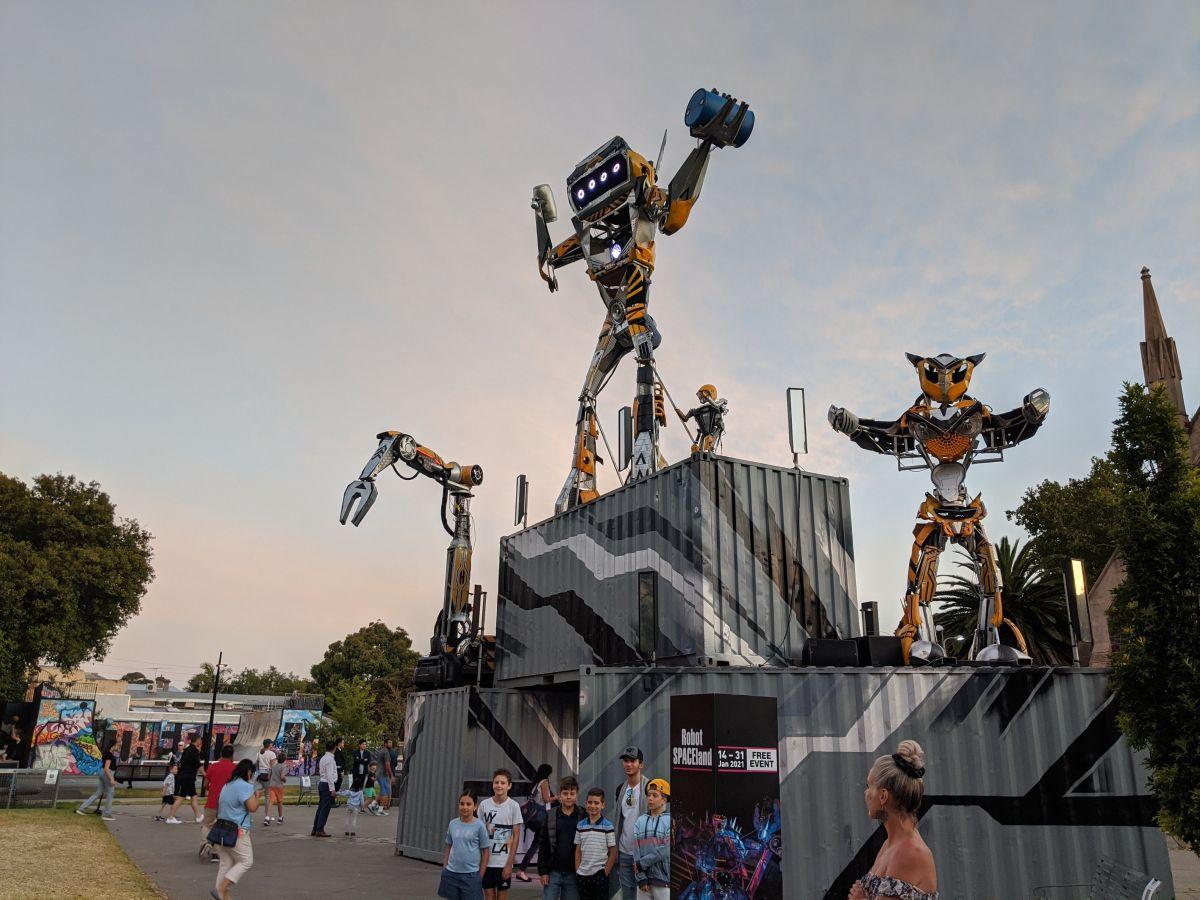 robot SPACEland prahran 1