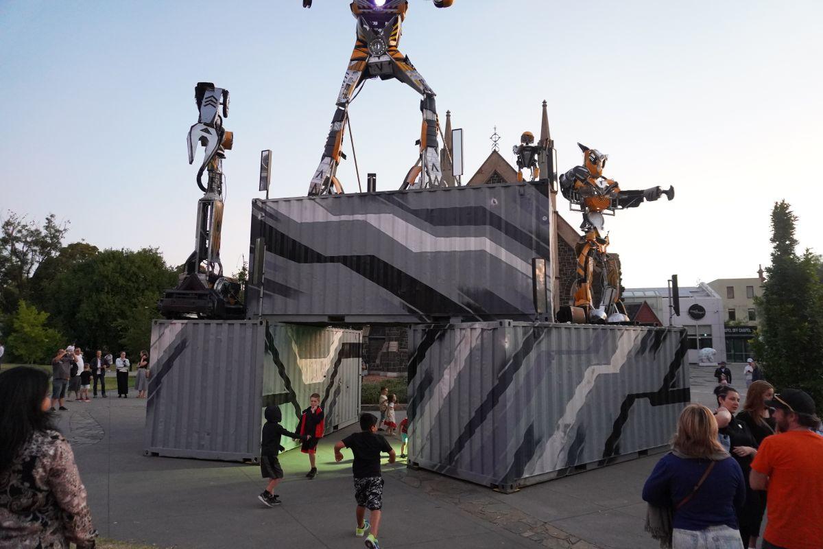 robot SPACEland prahran 10