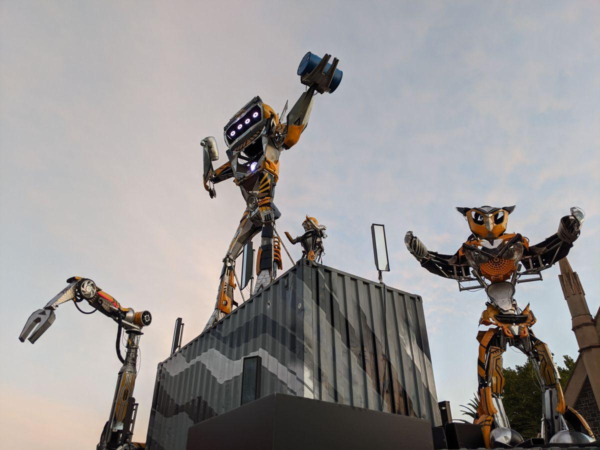 robot SPACEland prahran 2