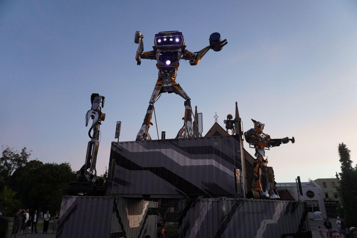 robot SPACEland prahran 9